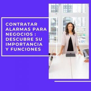 imagen de Contratar alarmas para negocios